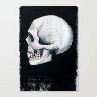 Bones XII Canvas Print