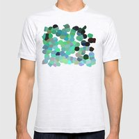 The Emerald Isle Mens Fitted Tee Ash Grey SMALL