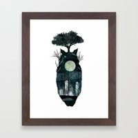 March Of The Forest Spir… Framed Art Print