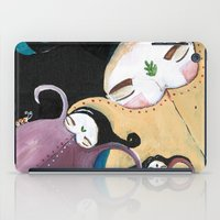 Sleeping Bhoomies iPad Case
