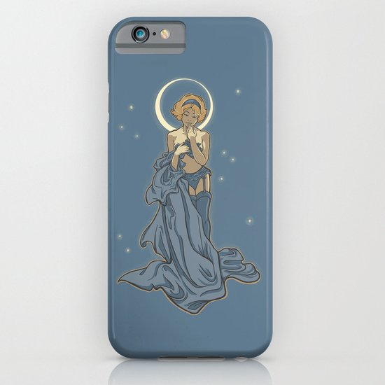 Mucha Pin Up Girl iPhone & iPod Case
