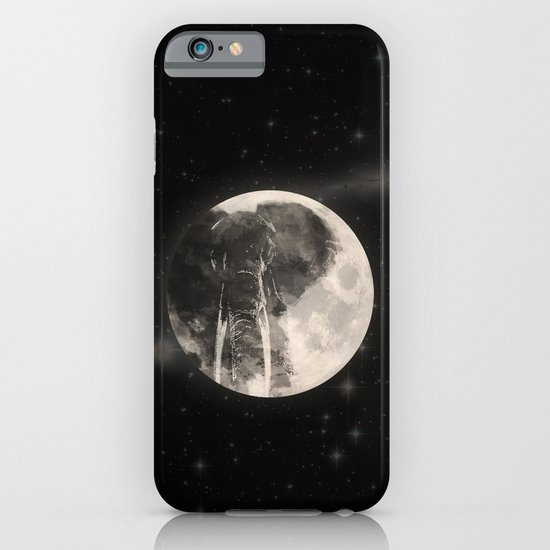 The Elephant in The Moon iPhone & iPod Case