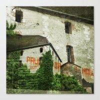 Prunes Graines Noix Canvas Print