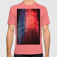 SUPERLUMINAL Mens Fitted Tee Pomegranate SMALL