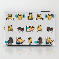 Leg Day With The Pug iPad Case