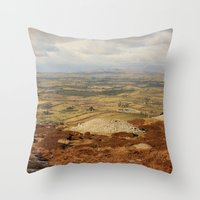 Carrowkeel  Throw Pillow