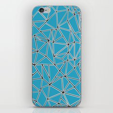 Shattered Ab Blue iPhone & iPod Skin