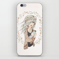 Mother's Love iPhone & iPod Skin