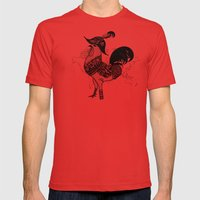 Pirate Mens Fitted Tee Red SMALL