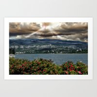 Bridge Near Vancouver Art Print