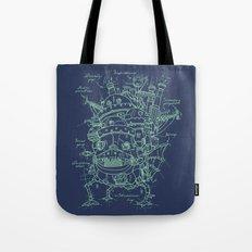 Chateau Ambulant Tote Bag