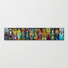 The Princesses Canvas Print