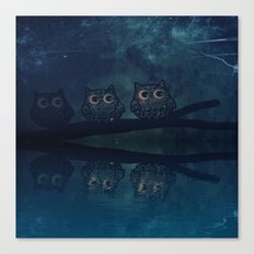 owl-317 Canvas Print