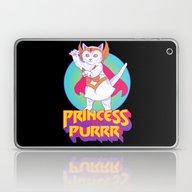 Princess Of Purrr Laptop & iPad Skin