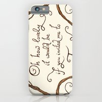 iPhone & iPod Case featuring Oh How Lovely it Would Be by Mariya Olshevska
