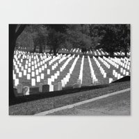 The Price Of Freedom Canvas Print