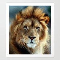 LION - Aslan Art Print