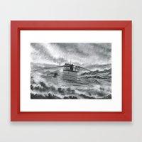 High Seas U-Boat Framed Art Print