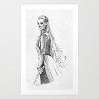 Tauriel Art Print