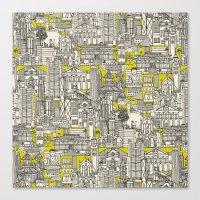 Hong Kong Toile De Jouy … Canvas Print
