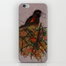 Red-winged iPhone & iPod Skin