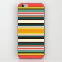 Retro Stripe iPhone & iPod Skin