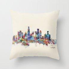 Los Angeles California S… Throw Pillow