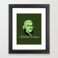 How Much Pain Have Cost … Framed Art Print