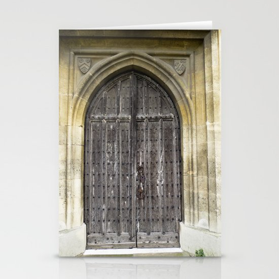 The Church Door Stationery Card