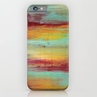 iPhone & iPod Case featuring Untitled - Abstract Painting II by Liz Moran