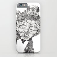 iPhone & iPod Case featuring Chelonioidea (the turtle) by Beth Thompson