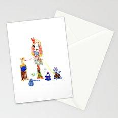 Girly Travel Stationery Cards