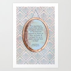 Mirrors Art Print