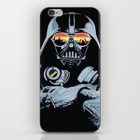 DJ Darth Vader iPhone & iPod Skin