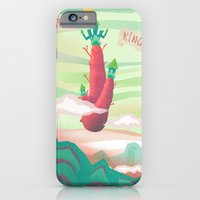 iPhone & iPod Case featuring Carrot King by Lunacy