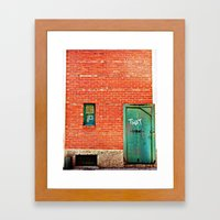 That thing you've been looking for. Framed Art Print