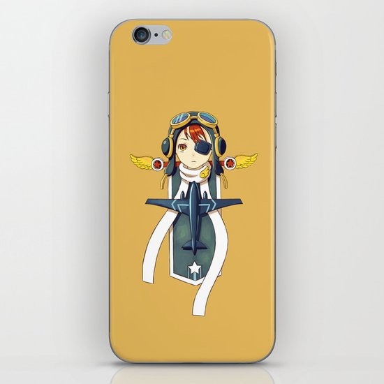 Pilot Banner iPhone & iPod Skin