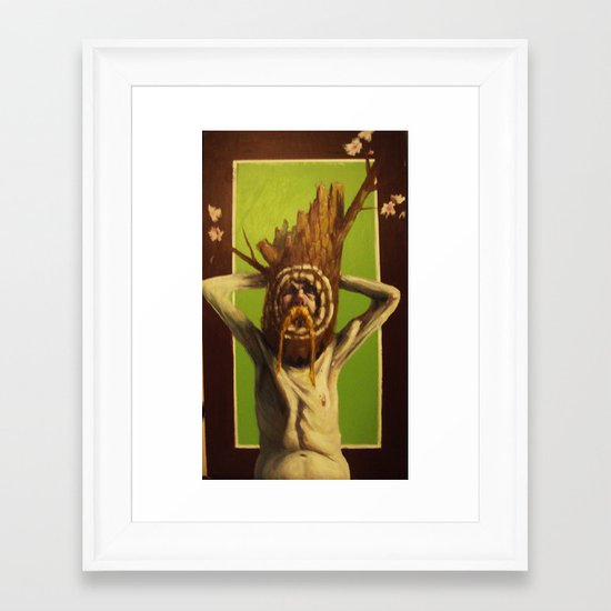 arbol Framed Art Print