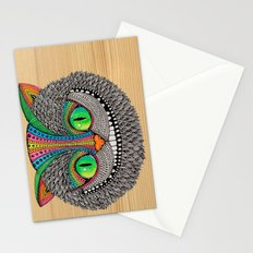 Alice´s Cat Wood Stationery Cards