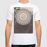 Washed Out Mens Fitted Tee Ash Grey SMALL