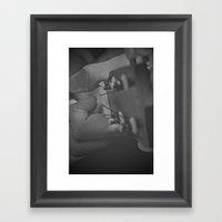 Ukulele Chord  Framed Art Print