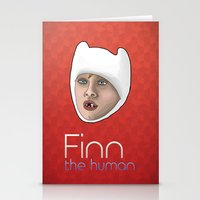 Finn The Human Stationery Cards