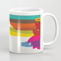 Shapes of Sydney. Accurate to scale Mug