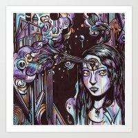 Escapism As A Glorious D… Art Print