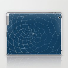 Honey Twist Blue Print Laptop & iPad Skin