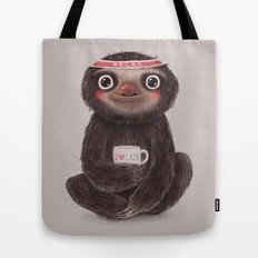 Sloth I♥lazy Tote Bag