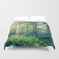 Duvet Cover featuring Inner Peace by Olivia Joy StClaire