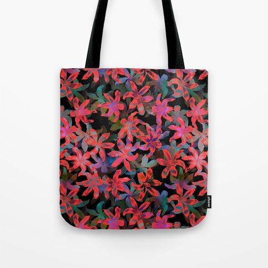 Tropical Serenade - Black Tote Bag