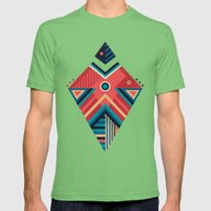 Arrow 06 Mens Fitted Tee Grass SMALL