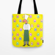 Pastry Chef Unicorn Tote Bag